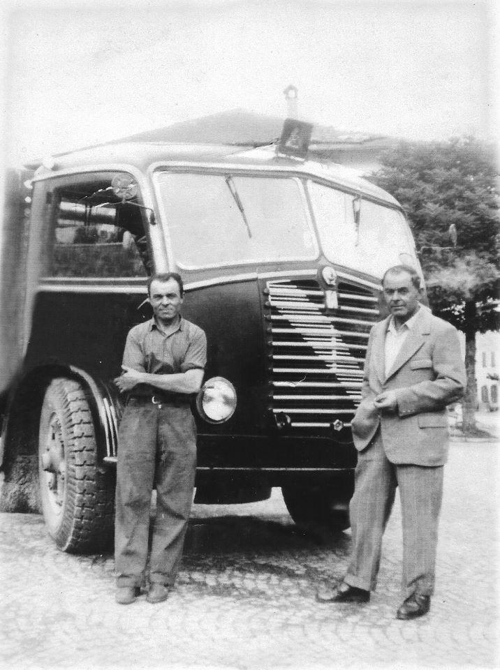 Santo Stefano di Cadore - Il camion di Celeste Comis