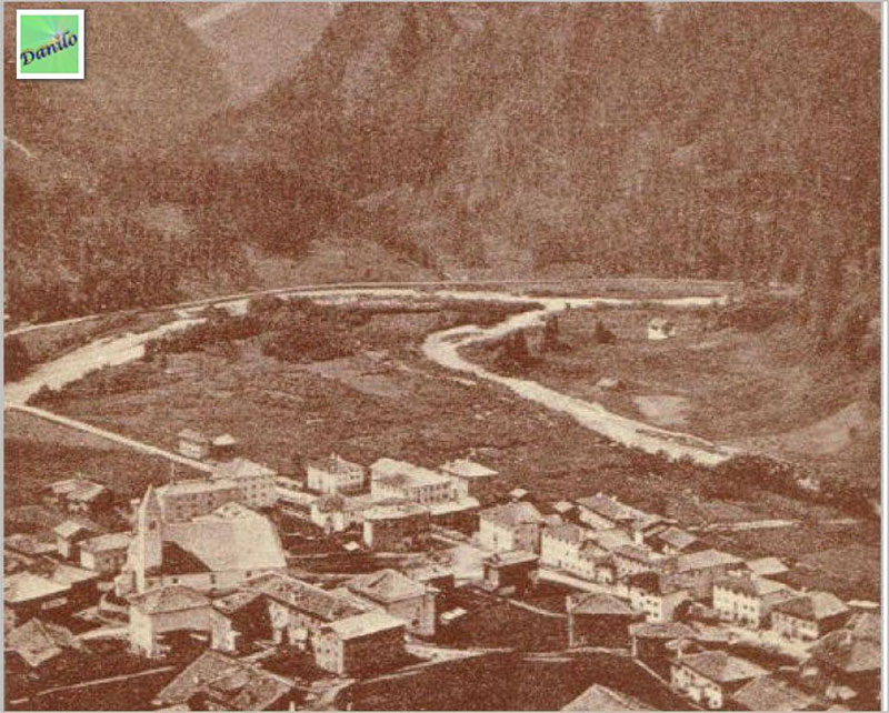 Santo Stefano di Cadore - Confluenza fiumi Piave e Padola