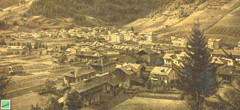 Santo Stefano di Cadore - vista del paese da  Transacqua