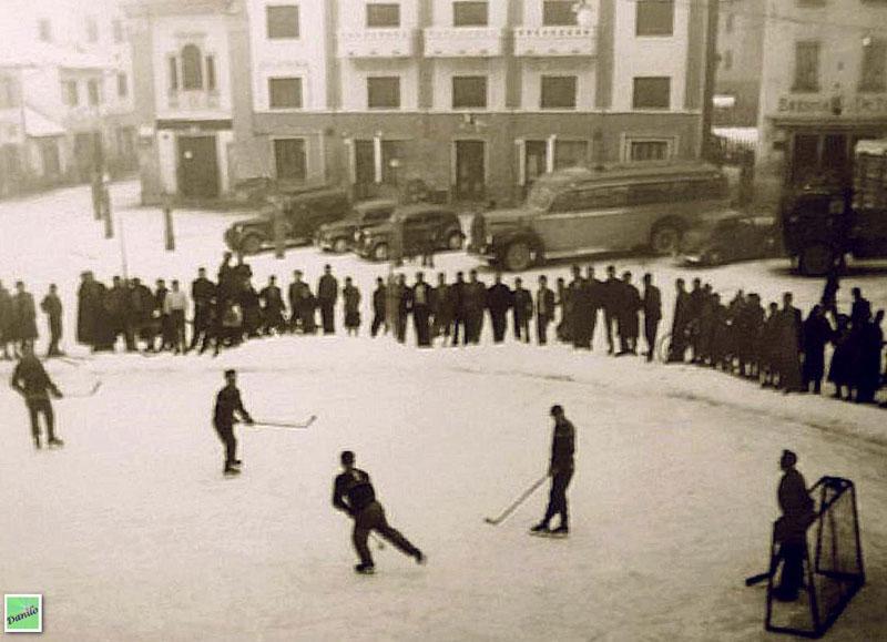 Santo Stefano di Cadore - Hockey in piazza