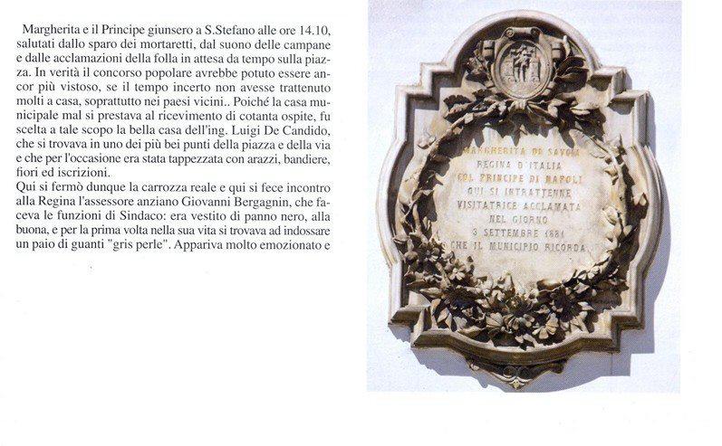 Racconto della visita della Regina Margherita di Savoia a Santo Stefano di Cadore