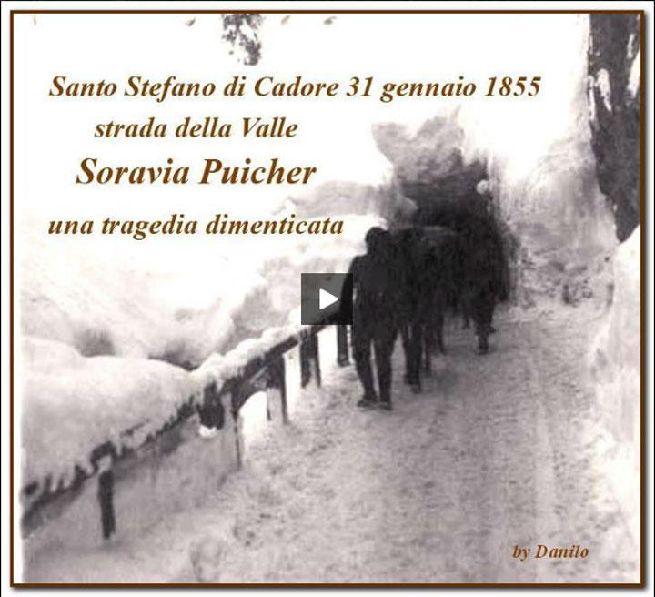 S.Stefano di Cadore, una tragedia dimenticata, Soravia Puicker